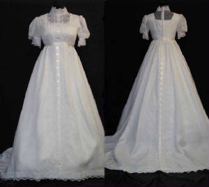Modest Vintage Wedding Gown #VG2013-188