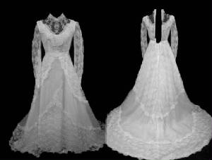 Vintage Bridal Wedding Gowns #VG1014-6