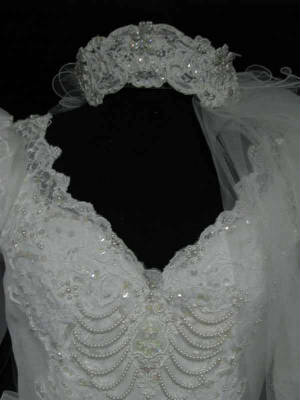 60gownveil.jpg FREE vintage veil and headpiece