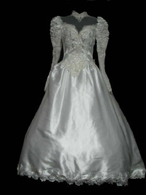 Modest Vintage Wedding Gown #GV67-232