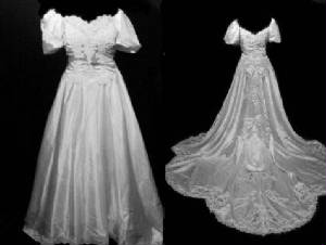 Vintage Bridal Wedding Gown VG1006-22