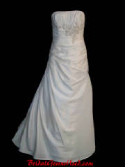 All strapless bridal gowns and wedding dresses