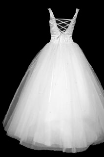 Lace-up Back Ball Gown Back #11gownback.jpg