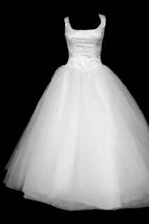 Lace-up Back Ball Gown Front #11gownf.jpg