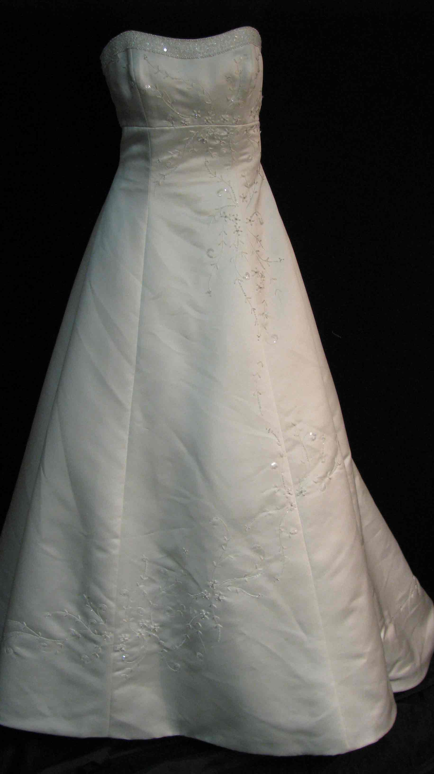 Eden Bridal Wedding Gown Front 55-169#