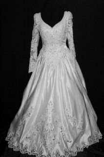 Mori Lee wedding bridal gown front with tags.jpg